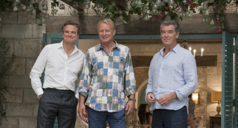 Colin Firth, Stellan Skarsgård & Pierce Brosnan